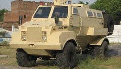 乌克兰装甲的KRAZ MPV为印度