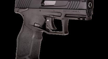 小口径手枪Taurus TX22。 一个有未来的模型