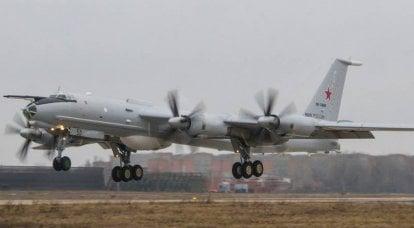 Antisubmarine Tu-142 de la flotte du Nord sera impliqué dans les patrouilles de la Baltique