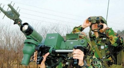 South Korean MANPADS and mobile short-range air defense systems