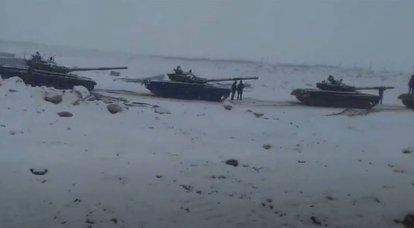 Mando indio: necesitamos tanques ligeros, y el T-72 y el T-90 son demasiado pesados para su uso en las montañas de Ladakh.