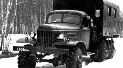 Deneyimli arazi aracı ZIL-157E