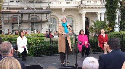 英国のマスコミは、テリーザ・メイ元首相がNATOの新しい事務局長にならない理由を説明しています