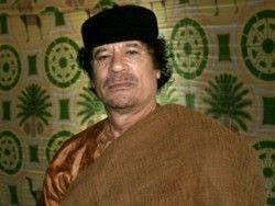 Gaddafi addressed the NATO