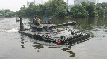 """""""मजबूत वर्तमान में परीक्षण किया गया"""": बीएमपी -3 एफ नए इंडोनेशियाई जहाजों के लिए तैयार किया जा रहा है"""