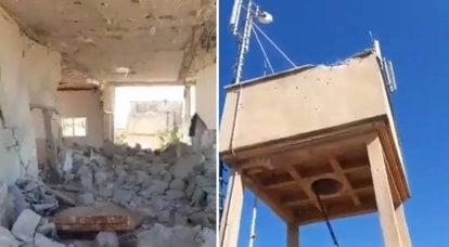 """Militanlar SAA'nın pozisyonlarına saldırdı ve """"cevap"""" sonrasında Suriye ordusunu sivilleri bombalamakla suçladı"""