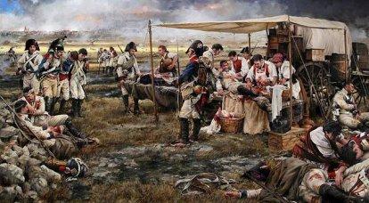 Napolyon'un Büyük Ordu Sağlık Hizmeti: hastaneler
