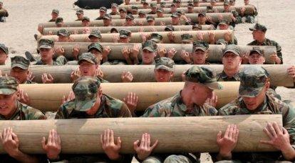 미국 특수 부대는 그들의 도덕적 성격을 잃는다