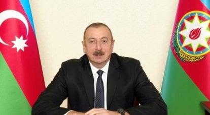 아제르바이잔 대통령은 프랑스에게 마르세유를 아르메니아 인에게 넘겨 줄 것을 제안했습니다.
