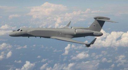 El concepto de radar de alerta temprana para aviones no tripulados