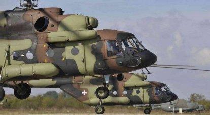 सर्बिया ने मुक्ति दिवस की पूर्व संध्या पर तीन एमआई-एक्सएनयूएमएक्स हेलीकॉप्टर प्राप्त किए