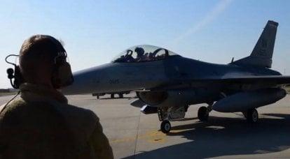 美国将部分F-16战斗机从德国转移到意大利
