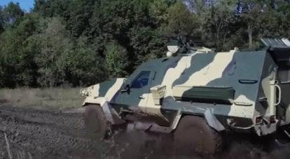 """Em vez de seu próprio AFV """"Dozor-B"""" Ucrânia compra veículos blindados poloneses Oncilla"""