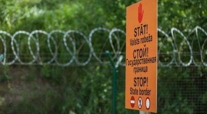Lettisches Verteidigungsministerium: Die Modernisierung der Grenze zu Russland wird die Sicherheit des Landes stärken