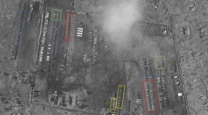 서부 블로거가 우크라이나 국경 근처 러시아 군 야전 캠프에서 장비를 조사했습니다.
