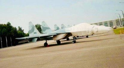 Im Internet erschienen Fotos von russischen Su-35-Mehrzweckjägern der ägyptischen Luftwaffe