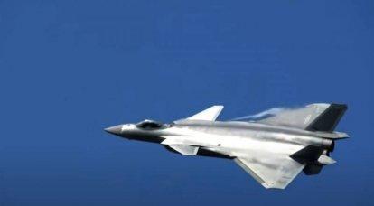 Çinli beşinci nesil avcı J-20 - teknoloji ve tasarım üzerine