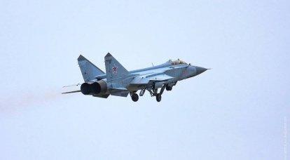 I combattenti MiG-31BM hanno chiuso l'Artico per la NATO
