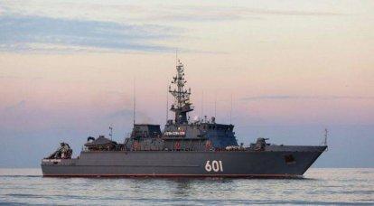 """El último buscaminas """"Ivan Antonov"""" se dirigió primero al mar Mediterráneo"""