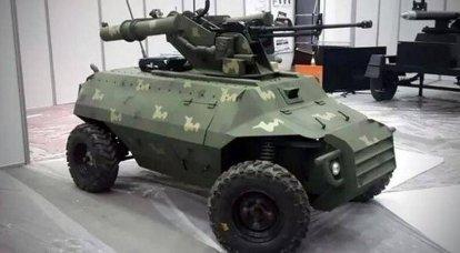 遠隔操作Al-Robot戦闘車両(イラク)