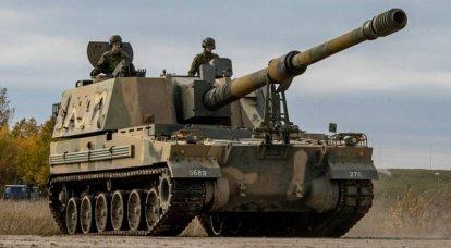 Estonia moderniza los soportes de artillería autopropulsada K9 Thunder