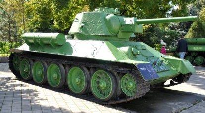 """E ancora alla questione del mod """"trentaquattro"""" sovietico. 1943 e tedesco T-IVH"""
