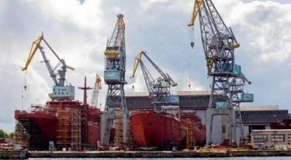 """El Director General del Astillero """"Yantar"""" habló sobre el avance de la construcción del segundo par del proyecto BDK 11711"""