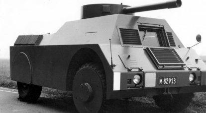 Addestramento veicolo bersaglio corazzato MOWAG Panzerattrappe (Svizzera)