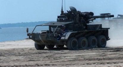 対空自走ユニットSMC Vulcan Wheeled Carrier(USA)