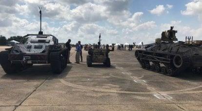 로봇 게임 : 펜타곤이 2030 년 러시아 군대를 격파 한 방법
