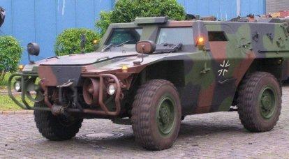 "Panzerspähwagen"" Zobel""(轻型装甲侦察车Sable)"