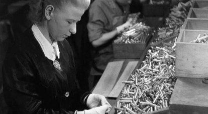 Cartouches pour la Wehrmacht: production dans les pays occupés