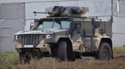 "State tests are over: armored car K4386 ""Typhoon-Airborne"" went to the troops"