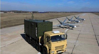 """Exportperspektiven des unbemannten Flugplatzkomplexes """"Orion-E"""""""