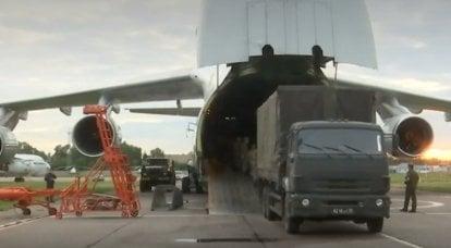 Dos aviones de transporte militar del Ministerio de Defensa volaron a Cuba con ayuda humanitaria