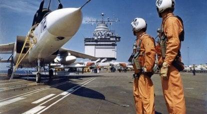 北美 A-5 Vigilante。 美国海军的轰炸机和侦察机
