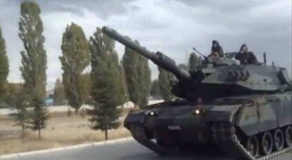 Les chars Sabra sont entrés en consommation: pertes de l'armée turque en Syrie