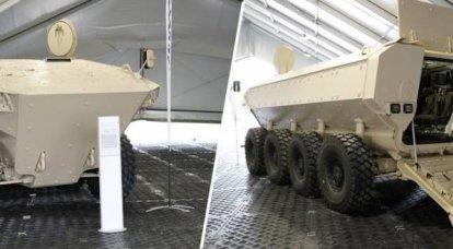 """""""Sarcófago móvil"""": se debate online un nuevo vehículo blindado de transporte de personal de Iveco"""