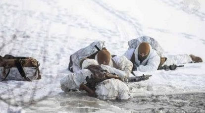 Special operations forces of the Armed Forces of Ukraine have worked out actions on water at low temperatures