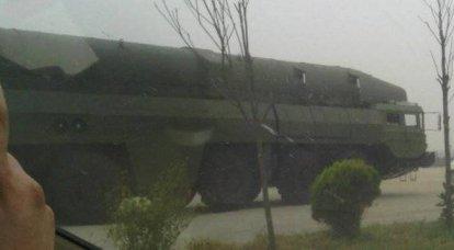 国際情勢を背景とした中国のロケットDF-26C