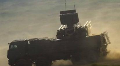 """시리아 방공 미사일 시스템 """"Pantsir-S""""이스라엘 고정밀 폭탄 GBU-39 요격"""