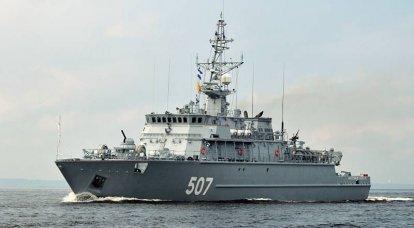 Rus gemi inşasının mayın karşıtı yarı manevrası