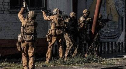 Spezialeinheiten der Ukraine. Ergebnisse der ersten Jahre