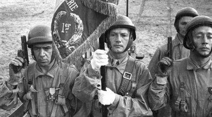 """""""제국의 불."""" 제 XNUMX 차 세계 대전 후 외국 군단"""