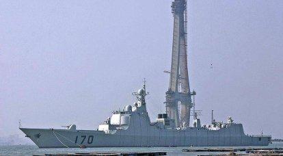 中国は大きな海軍力になります。