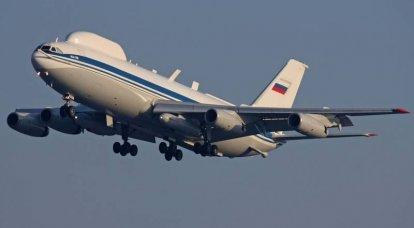 Was wird der Luftkommandoposten Il-96VKP sein?