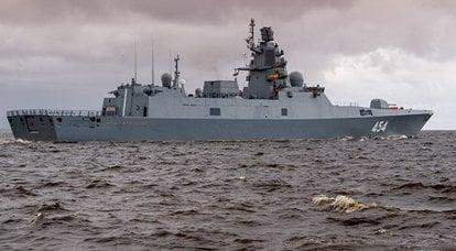 """L '""""ammiraglio Gorshkov"""" si è recato nel Mar Bianco per le prove finali del missile """"promettente"""""""
