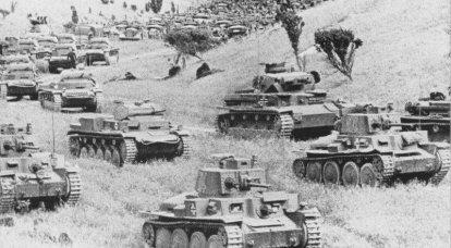 Mai 1941. Wo sind die deutschen Panzer und die motorisierte Infanterie?