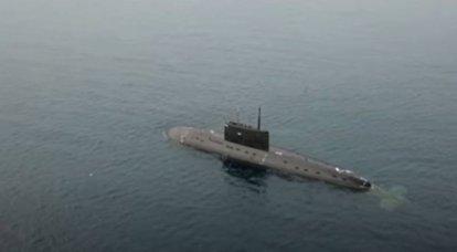 """""""Escoltada en el Estrecho de Taiwán"""": China se prepara para controlar el paso del AUG británico con la ayuda de los submarinos Varshavyanka"""