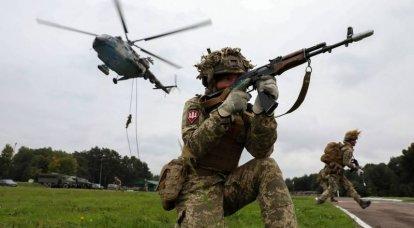 Wie läuft die ukrainische Militärübung United Efforts-2021: die erklärte Zerstörung von Zielen zu Lande, zu Wasser und in der Luft